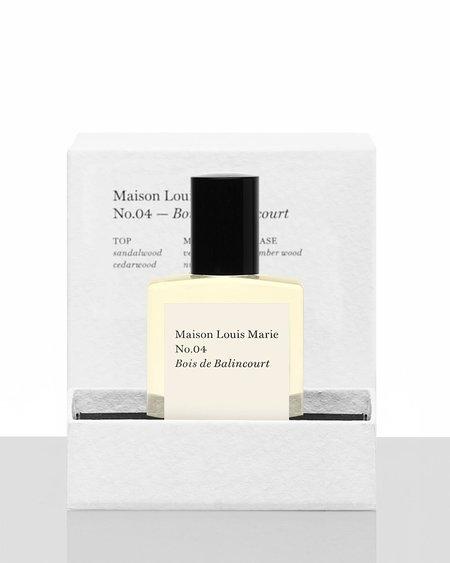 Maison Louis Marie No.04 Bois de Balincourt in Perfume Oils