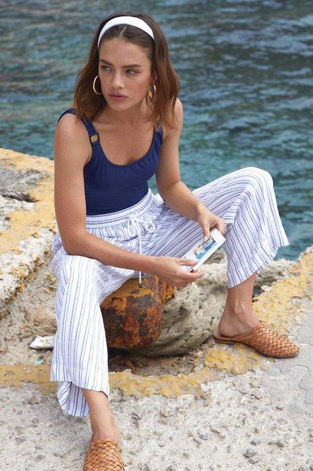 Rails Agnes Canela Stripe Ankle Pant