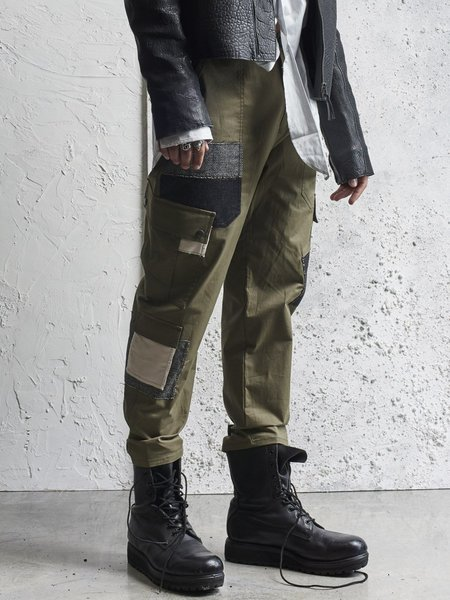 78 STITCHES 1.6 Combat Patch Pant - ARMY GREEN