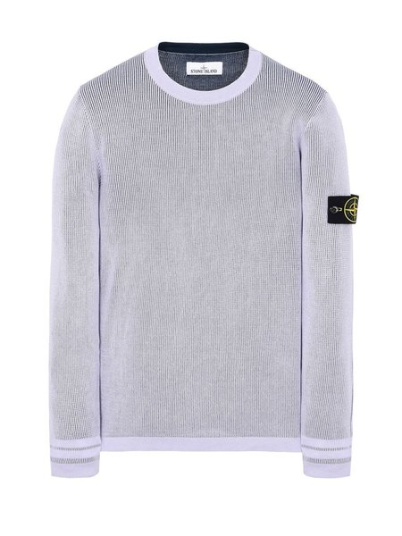 Stone Island Double Knit Sweater - LAVANDA