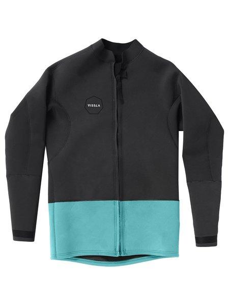 VISSLA Neoprene Front Zip Jacket - Phantom