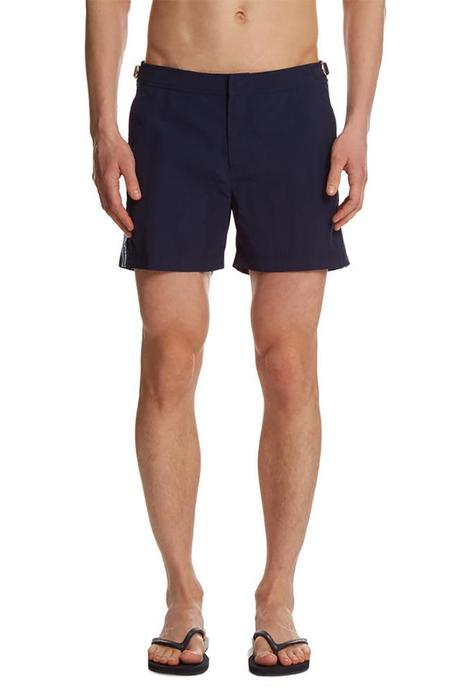Orlebar Brown Setter Applied Tape Shorts - NAVY/WHITE/RIVIERA