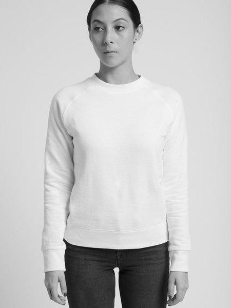 Hanes X Karla The Crew Sweatshirt - White