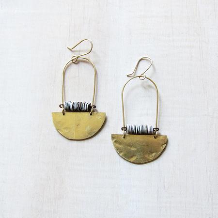 Alchemilla Sequin Sun Earrings