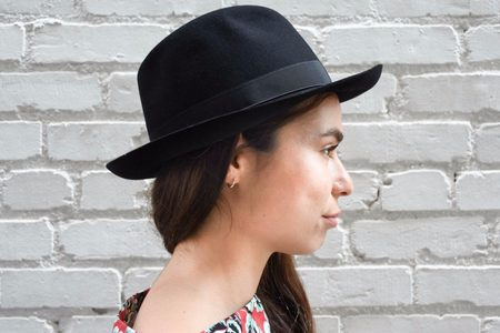 Borsalino Alessandria Hat - Nero