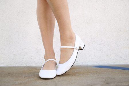 Repetto Rose Ball - White