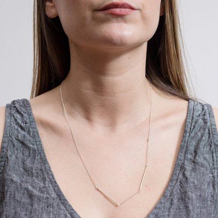 PILAR AGUECI Siria Necklace - Silver