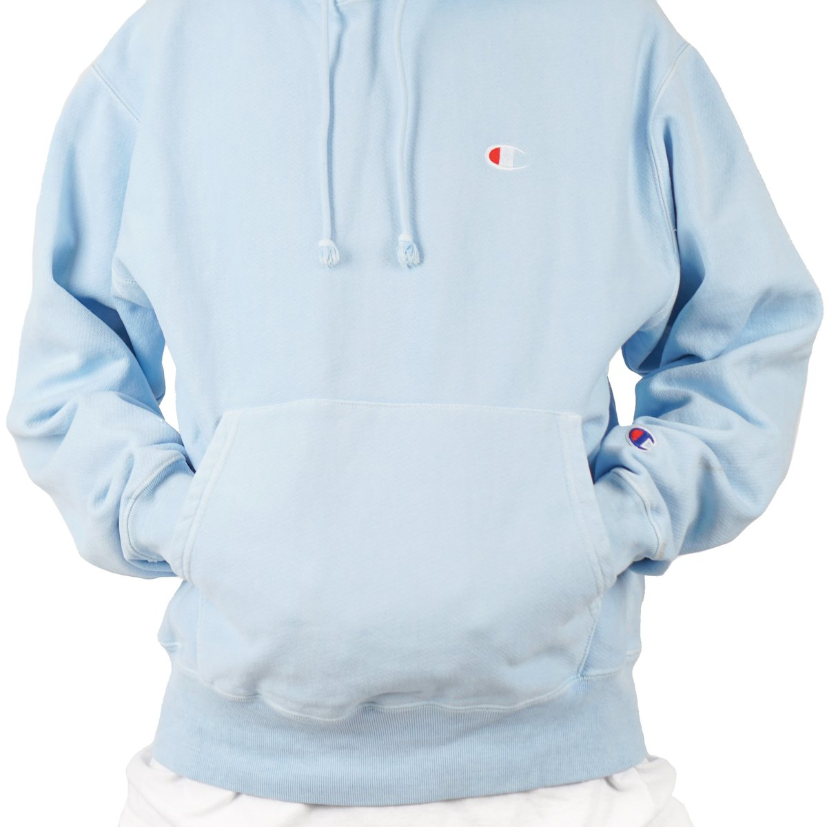 Heavyweight Pigment-Dyed Hooded Sweatshirt with Pointer Silhouette