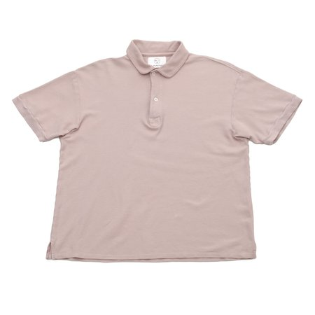 Unisex Olderbrother Polo - Pink Hibiscus
