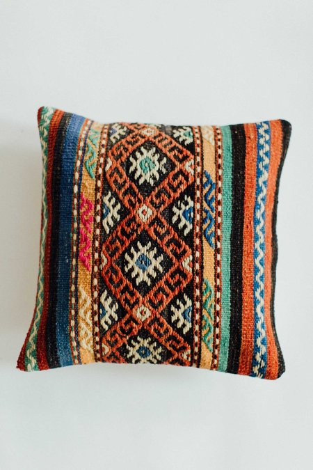 Weft End Vintage Turkish Pillow - No. 007