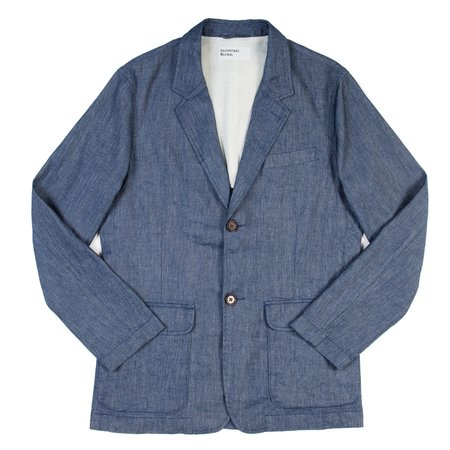 Universal Works Two Button Jacket - Indigo