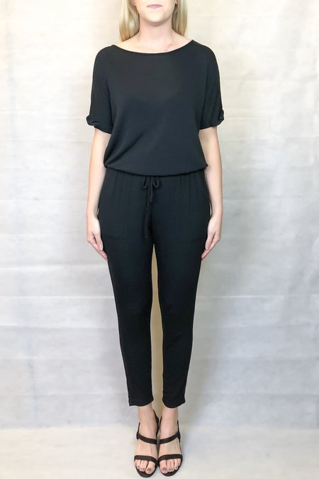 Heather Riviera Jumpsuit - Black