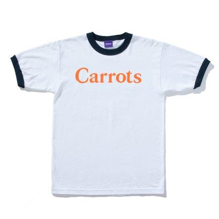 Carrots Ringer T-shirt - White