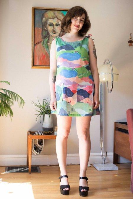 Samantha Pleet Vista Dress - Hills are Alive