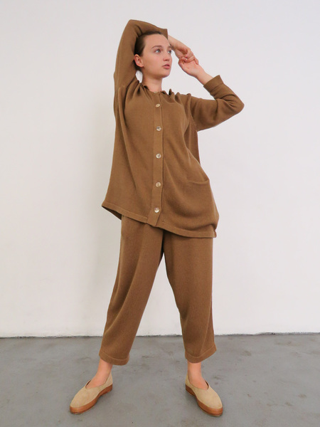 FEIT INTERNATIONAL HAND SEWN BALLET - TAN