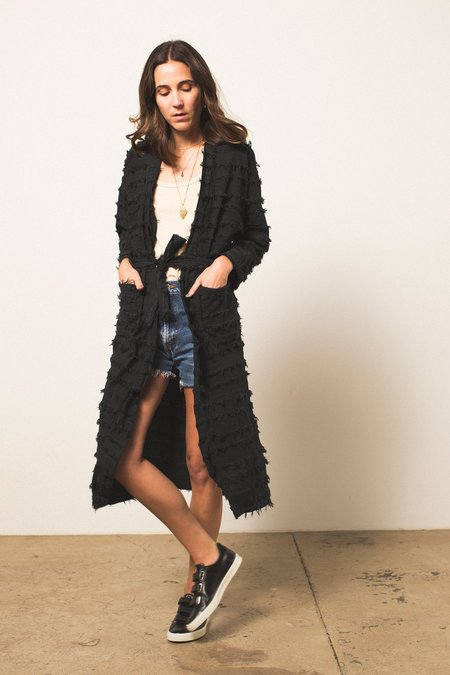 NicoNico Maxwell Kimono - Striped Voile