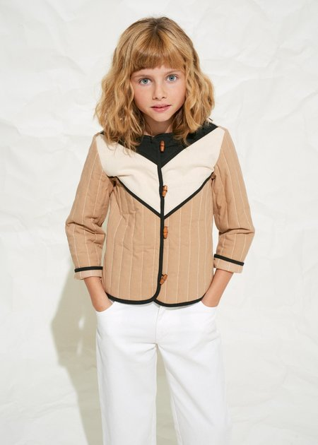 Kids Polder Girl Dive Quilted Jacket