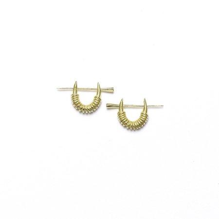 I Like It Here Club Kimball Dagger Earrings - Gold