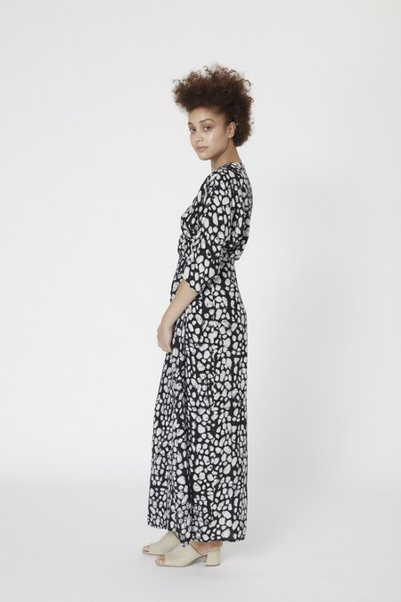 Osei-Duro Letsa Wrap Dress - Dots