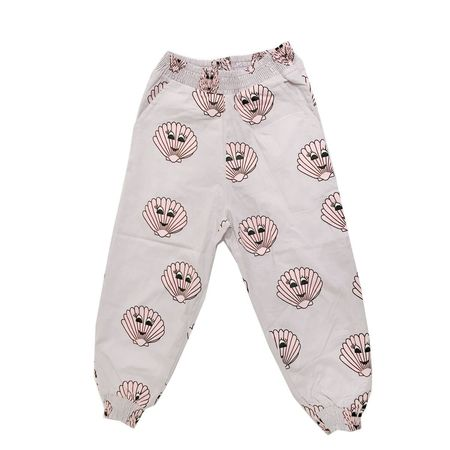 Kids Hugo Loves Tiki Seashell Print Bubble Pants - Pink