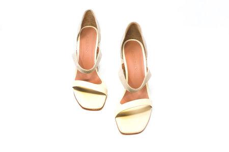 Rachel Comey Open Toe Square Heel Sandal