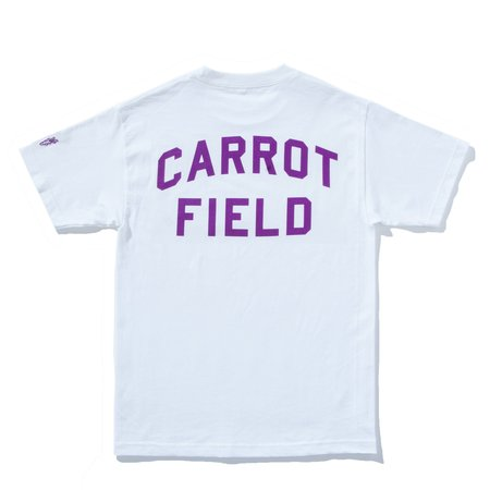 Carrots Field T-shirt - White