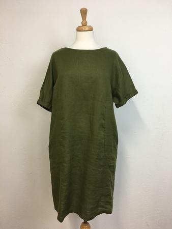 Elk Linen Shift Dress