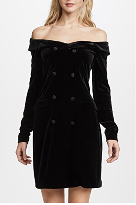 L'agence Romilly Jacket Dress - Black