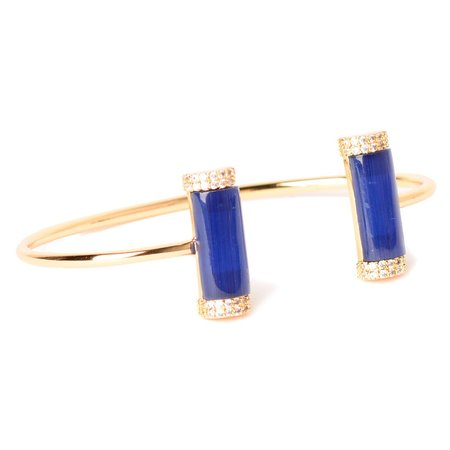 Marcia Moran Dalu Double Stone Bracelet
