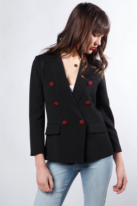 Smythe mini double blazer - Black