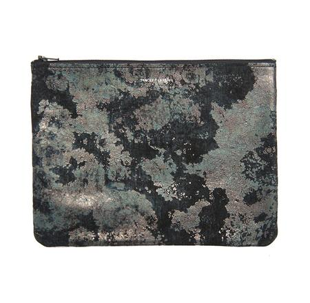 Tracey Tanner Large Flat Zip Pouch - Iron Oxidize