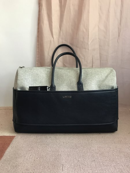 KANEVAS MARGUERITE bag - BLUE/GRAY CHEVRON