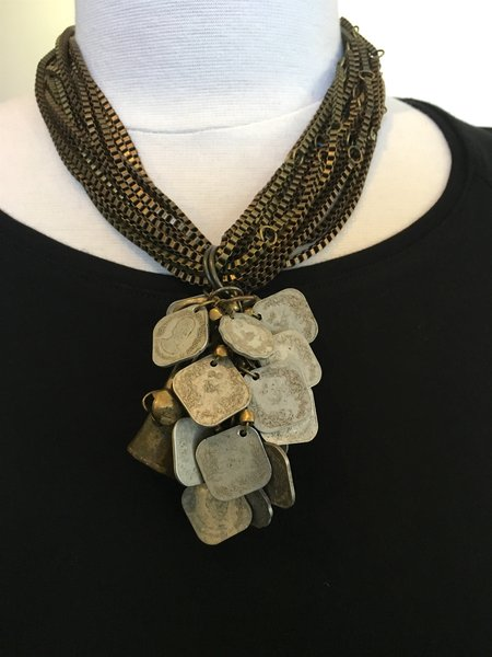 Teri Pelio Medallion Necklace