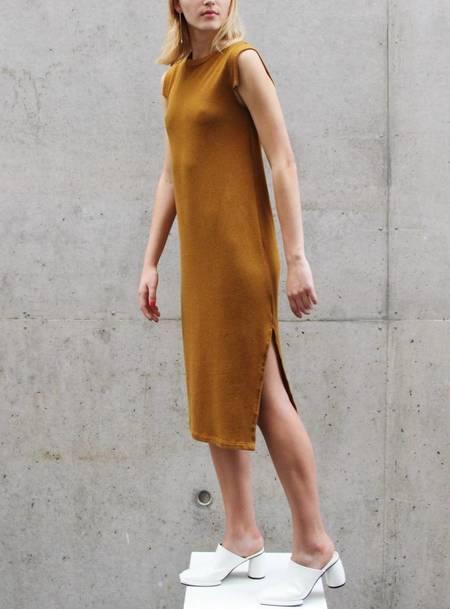 34N 118W Bliss Midi Dress - Tobacco