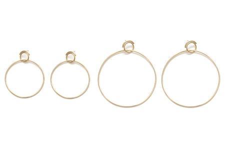 Seaworthy Obliquity Hoops - Brass