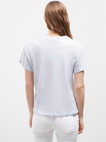 Great Plains Cotton Jersey T-shirt - Blue Mist