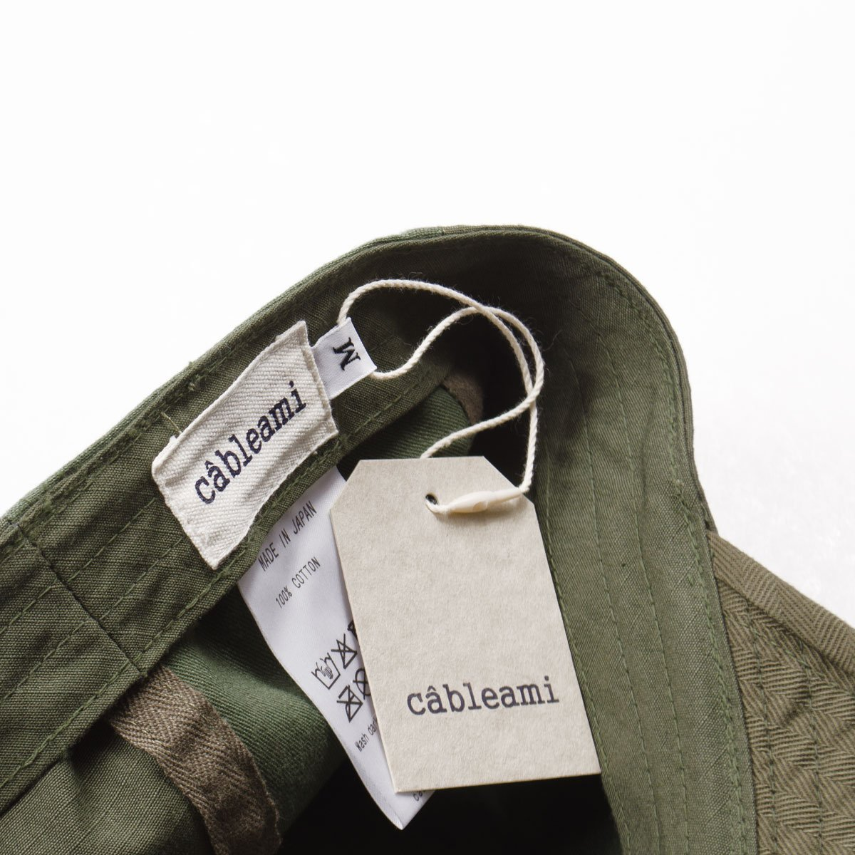 b10f4826b32 cableami Army Cap - Olive Patch