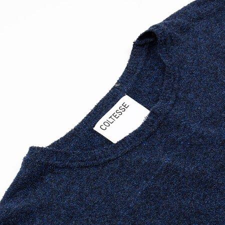 Coltesse Taurus Long Sleeve T-shirt - Mixed Blue