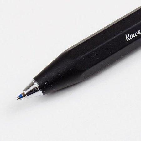 Kaweco Al Sport Ball Pen - Black Aluminum