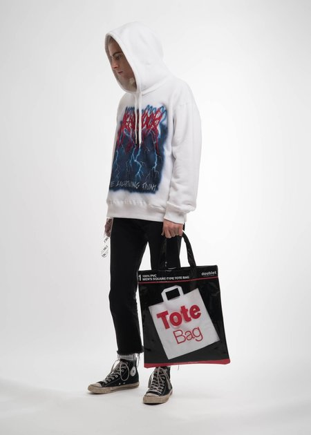 Doublet Deadstock Tote Bag - White