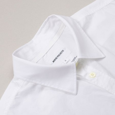 Norse Projects Osvald Classic Poplin Shirt - White