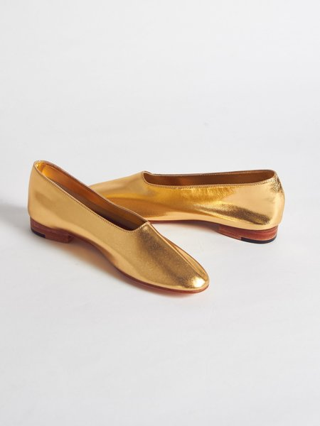 Martiniano Glove Shoe - Gold