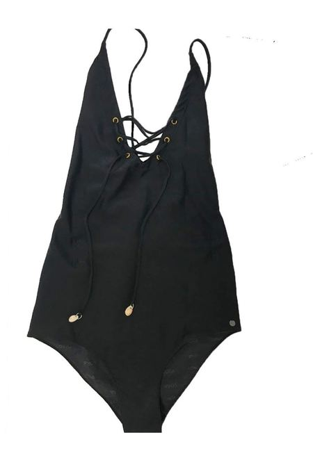 Loka Swimwear Classic One Piece - Black