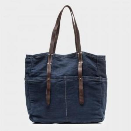 49 Square Miles Canvas Six Pocket Tote Bag