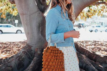 Caron Callahan Pippen Skirt - Embroidered Floral