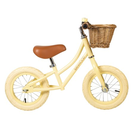 Kids Banwood Balance Bike - Vanilla