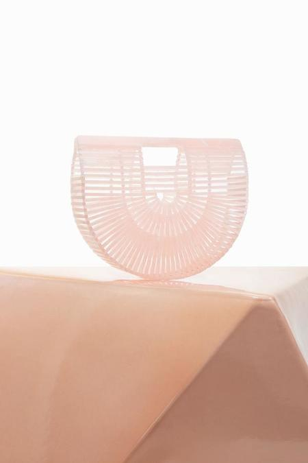 Cult Gaia Acrylic Ark Bag - Pink