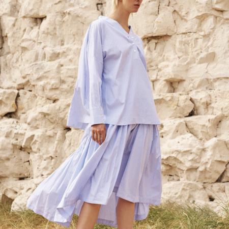 Teija Brera Lux Short - Blue Stripe