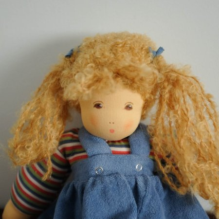 Kids Nanchen Baby Girl Doll - Blonde Hair