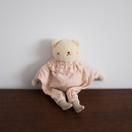 Kids Polka Dot Club Star Bear - Blush Pink
